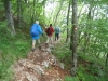 Abstieg vom  Učka-Gipfel