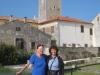 Bruni  und Marianne in Motovun