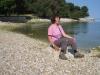 am Strand von Vrsar