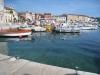 am Hafen von Bruni in Rovinj