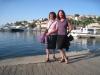 Marianne und Bruni Bruni im Hafen von  Vrsar