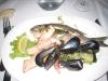 letztes Abendessen mit Meeresfrüchten