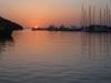 Sonnenuntergang am Hafen von Vrsar