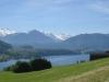 Blick auf den Küssnachtersee; Schwalmis, Risetenstock, von Buochserhorn