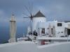 in Oia mit Windmühle