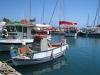 im Hafen von Vlychada