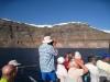 auf den Boot nach  Fira