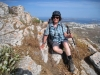 Marianne auf dem Mount Profitis Ilias