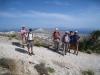 Blick vom Mount Profitis Ilias auf Santorin
