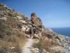 beim Abstieg vom Mount Profitis Ilias