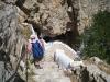 hinunter zur Zoodochos Pigi; Leben spendende Quelle