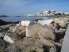 am Strand von Naxos