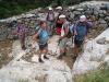 Abstieg vom Fanari; kurzer Halt