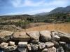 Landschaft beim Demetra Tempel  in Sangri