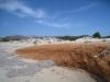 am  Sandstrand von Alyko