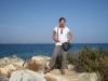 Bruni am Strand von Naxos