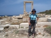 Marianne vor Apollo Tempel