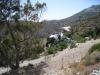 Sicht auf das Kloster Agios Georgios Valsamitis