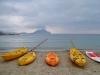 der Strand von Aigiali