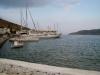 Hafen von Katapopla, unser Schiff nach Naxos