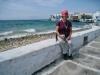 Marianne  in Mykonos; kleines Venedig