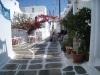 in Mykonos in der Taverne