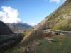 das Bahntrassee  der Lötschberglinie