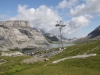 Blick gegen  den Daubennsee; Felsenhorn 2782m