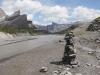 Gemmi; Rinderhorn 3449m, Plattenhörner  2845m, Majinghorn 3054m