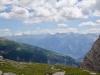 Panorama vom Gemmipass; Balfrin 3795m, Ulrichshorn 3925m, Mischabelgruppe, Brunegghorn 3833m, Bishorn 3153m, Weisshorn 4505m, Zinalrothorn 4221m, Les Diablons 3609m