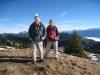 Hanspeter und Brigitte beim Aufstieg