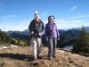 Hanspeter und Marianne beim Aufstieg