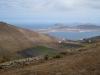 Sicht auf die Inseln la Graciosa, Montana Clara und Alegranza