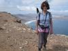 Marianne an der Steilküste von Risco de Famara