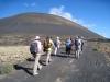 Gruppe auf dem  auf dem Camino Montaña negra