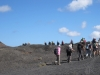 Gruppe unterwegs  auf dem Camino Montaña negra