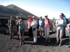 Gruppe im Weinanbaugebiet von La Geria