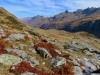herbstliche Landschaft mit Grandstock 2315m, Charrenstock 2422m