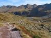 auf dem Aufstieg zur Leglerhütte; nBerglihorn 2528m, Vorder-Mittller-Hinter -Blistock, Schwarz Tschingel 2426m