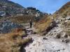 auf dem Aufstieg zur Leglerhütte