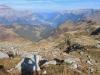 Blick beim Aufstieg zur Leglerhütte