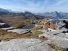 auf der  Leglerhütte 2273m: Ortstock, 2717m, Höch Turm 2665m