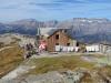 Leglerhütte 2273m; Bös Fulen 2802m, Rüchigrat 2506m, Bösbächistock 2914m,vo Vorderchammstock 2404m, ganz vo First 1997m, hi Rad 2661m, Bächistock 2915m, Glärnisch-Ruchen  2901m