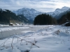 Lenkseeli; Grossstrubel 3243m, Mittlerer Gipfel 3243m, WIldstrubel 3243m, vo Laufbodenhorn 2703m, hi Gletscherhorn 2943m