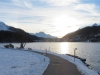am St.Moritzersee mit Margna