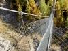 die Hängebrücke beim Melcherbodu