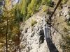 die Hängebrücke beim Melcherbodu; Daubenhorn
