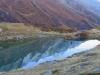 am Guggisee 2007m; Spiegelung der Nordseite des Tals