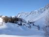 Sattelhorn 3745m, Schinhorn 3797m