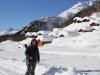 Marianne beim Gletscherstafel  1765m